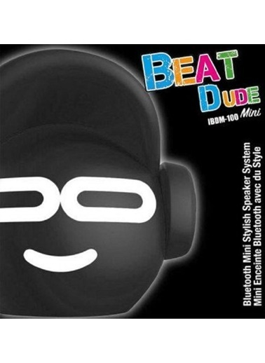 iDance Beat Dude Mini Siyah Bluetooth Hoparlör Siyah